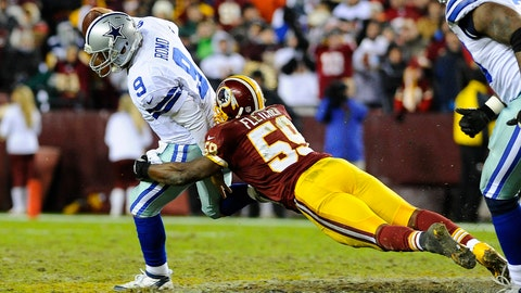 2012 Week 17 loss to Redskins with the NFC East title up for grabs
