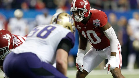 New Orleans Saints: Reuben Foster, LB, Alabama
