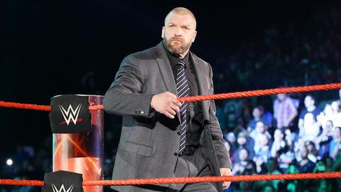 Wildcard: Triple H vs. Seth Rollins
