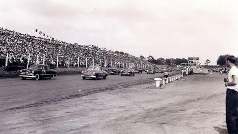 First NASCAR race