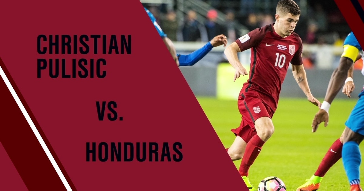 Christian Pulisic vs. Honduras (VIDEO) | FOX Sports