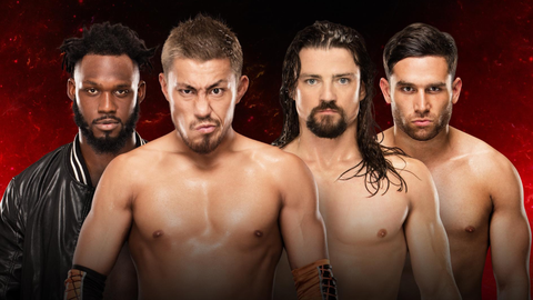 Akira Tozawa and Rich Swann vs. Noam Dar and The Brian Kendrick