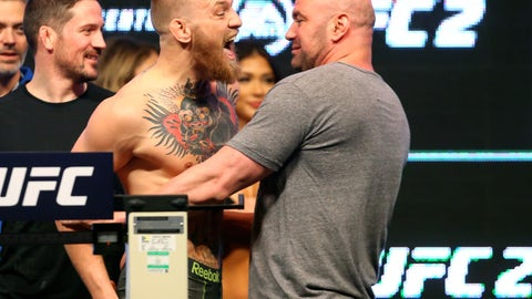 Dana White: I think Mayweather vs. McGregor will happen