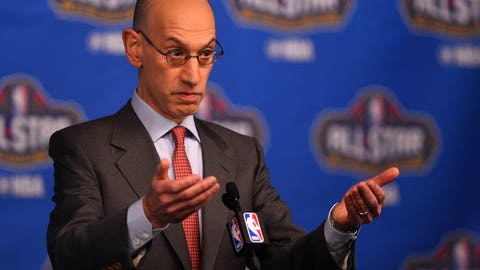 Cowherd: Adam Silver says it's a science issue, but it's more about the money