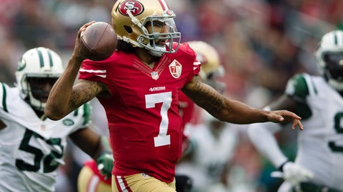 Shannon: Kaepernick will likely have to start as a backup