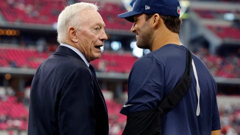 Skip: Jerry Jones now has no pressure to make a move