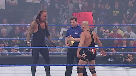 The Undertaker offered to lose to Kurt Angle at WrestleMania