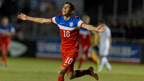 Then: Christian Pulisic (2014)
