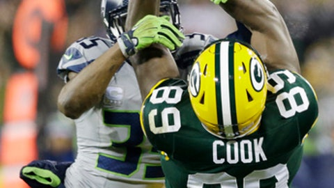 September 10: Seattle Seahawks at Green Bay Packers, 4:25 p.m. ET