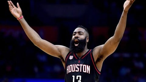 When you compare results, the MVP clearly is Harden's