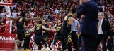 Late 3 gives Iowa win over mistake-prone No. 22 Wisconsin