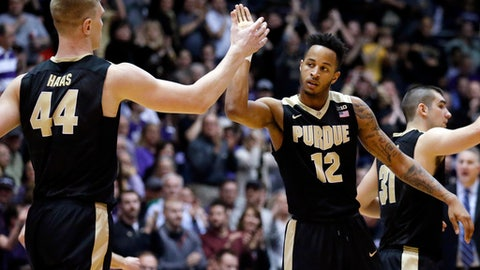 No. 3 Purdue holds on against Rutgers for 19th straight win