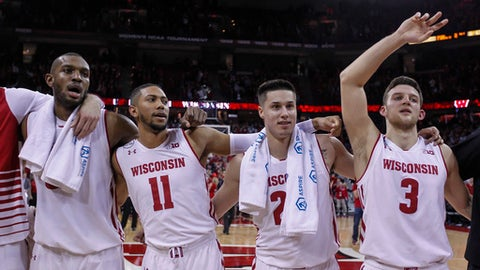 Wisconsin (No. 8 seed, East Region)
