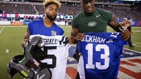 Odell Beckham Jr., WR, Giants