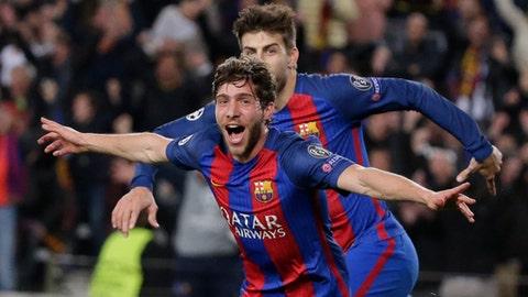 RB: Sergi Roberto