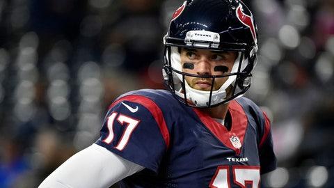 The Texans dumping Brock Osweiler