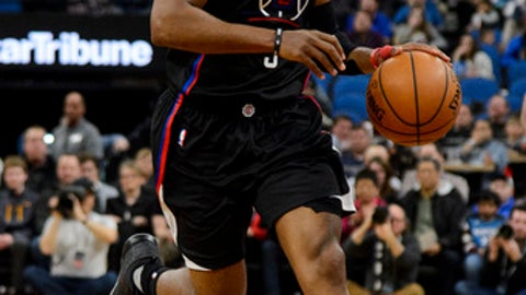 MINNEAPOLIS, MN - MARCH 08: Chris Paul #3 of the Los Angeles Clippers dribbles the ball against the Minnesota Timberwolves during the third quarter of the game on March 8, 2017 at the Target Center in Minneapolis, Minnesota. The Timberwolves defeated the Clippers 107-91. NOTE TO USER: User expressly acknowledges and agrees that, by downloading and or using this Photograph, user is consenting to the terms and conditions of the Getty Images License Agreement. (Photo by Hannah Foslien/Getty Images)