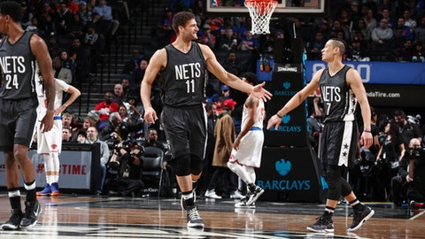 Brooklyn Nets: Brook Lopez, Jeremy Lin, Trevor Booker