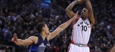DeRozan scores 25 as Raptors beat Mavericks 100-78