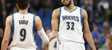 Towns, Rubio lead Wolves over Wizards, 119-104 (Mar 13, 2017)