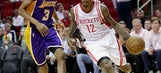 Williams, Harden send Rockets to 139-100 win over Lakers