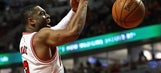 Bulls' Dwyane Wade out for rest of season with elbow injury