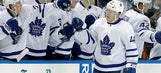 Four-goal second period lifts Maple Leafs past Lightning 5-0