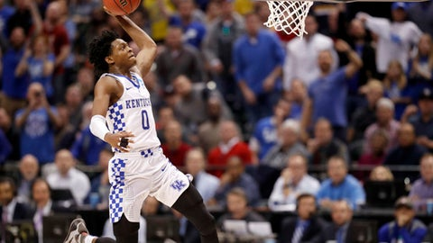 De'Aaron Fox, G, Kentucky