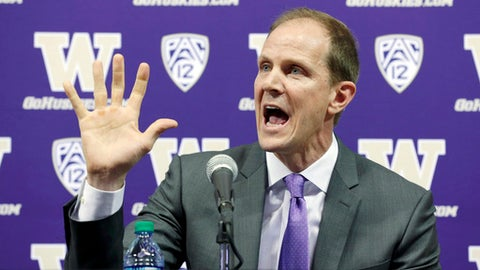 Washington: Mike Hopkins (former Syracuse assistant)