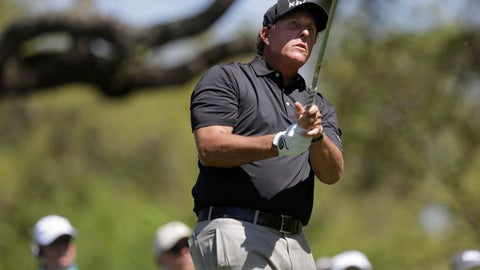 Phil Mickelson hasn't won in a long, long time but that doesn't mean his game is off