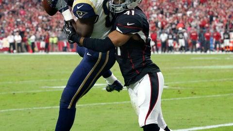 December 3: Los Angeles Rams at Arizona Cardinals, 4:25 p.m. ET