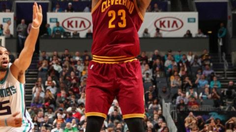 3-point shooting: LeBron James
