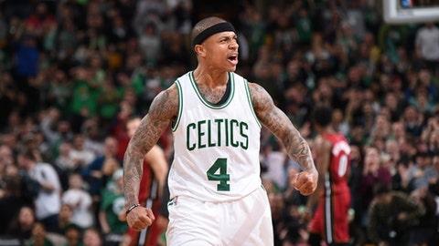 Most Improved Player: Isaiah Thomas, Boston Celtics