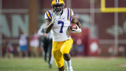Seattle Seahawks: Leonard Fournette, RB, LSU