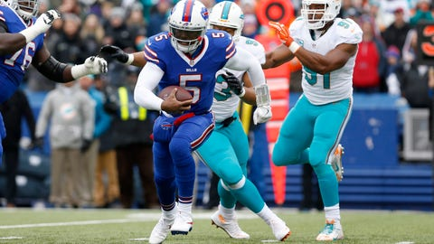 December 17: Miami Dolphins at Buffalo Bills, 1 p.m. ET