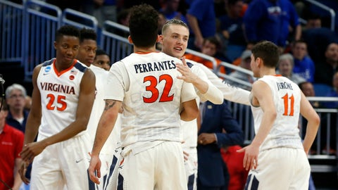 East Region: No. 5 Virginia vs. No. 4 Florida (approximately 8:40 p.m. ET)