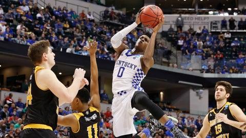 South: No. 7 Wichita State vs. No. 2 Kentucky  (approximately 2:40 p.m. ET)