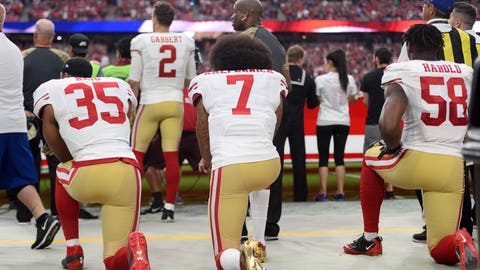 Shannon Sharpe: Americans are more upset with Kaepernick kneeling than why he was kneeling
