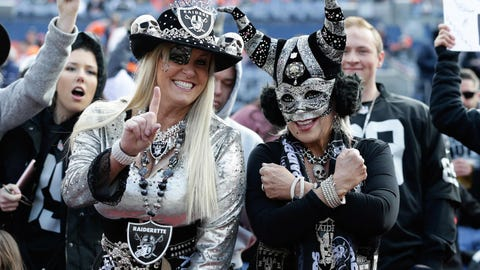 The Raiders are now begging fans to support a lame-duck team