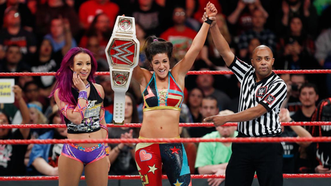 The Raw Women's Championship situation is anyone's guess
