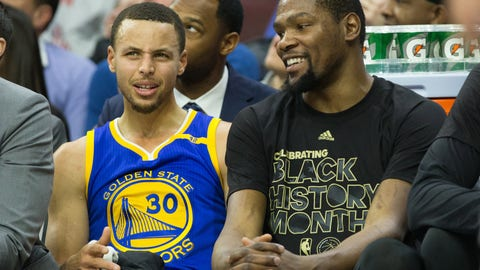 Skip: My instinct was that Durant would only be out a few weeks