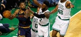 Kyrie hits last-minute circus shot, but Celts find way to stop him with game on the line