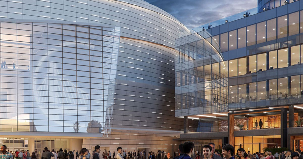Golden State Warriors Give Sneak Peek Of New Chase Center