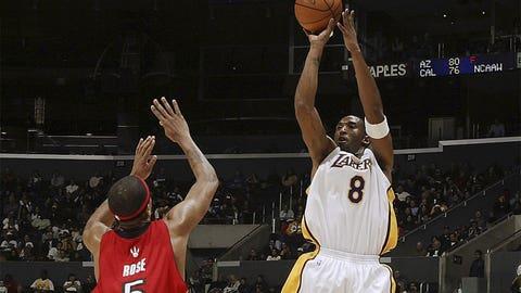 2. Kobe Bryant, 81, Lakers vs. Raptors (1/22/06)