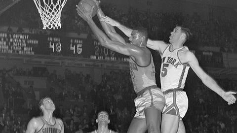 T4. Wilt Chamberlain, 73, Warriors at Knicks (11/16/62)