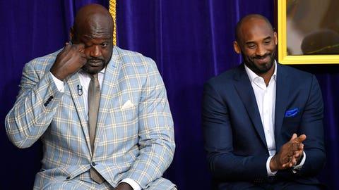 Shaq and Kobe Bryant