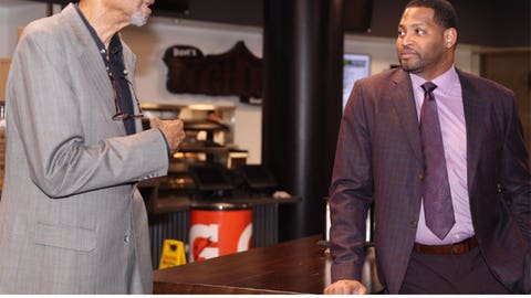 Kareem and Robert Horry
