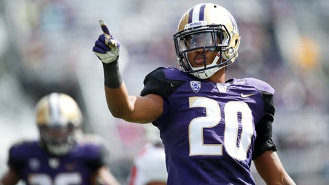 Round 2 — Cleveland Browns: Kevin King, CB, Washington