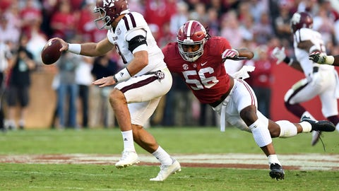 Jacksonville Jaguars: Tim Williams, DE, Alabama