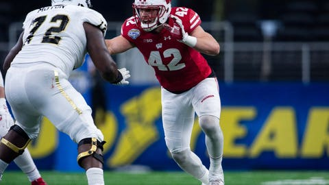 Los Angeles Rams: T.J. Watt, LB, Wisconsin